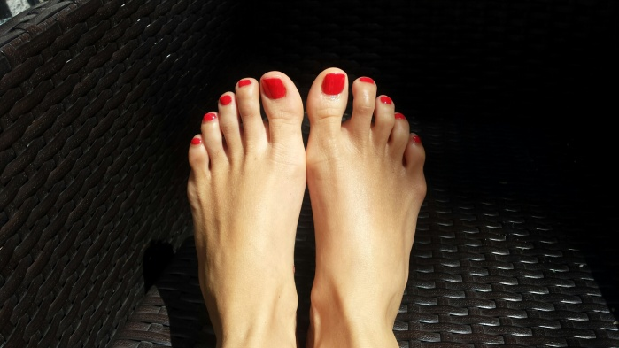 My feet LeSalonNHYM