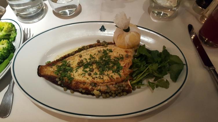 Ivy Kensington Brasserie Sole NHYM