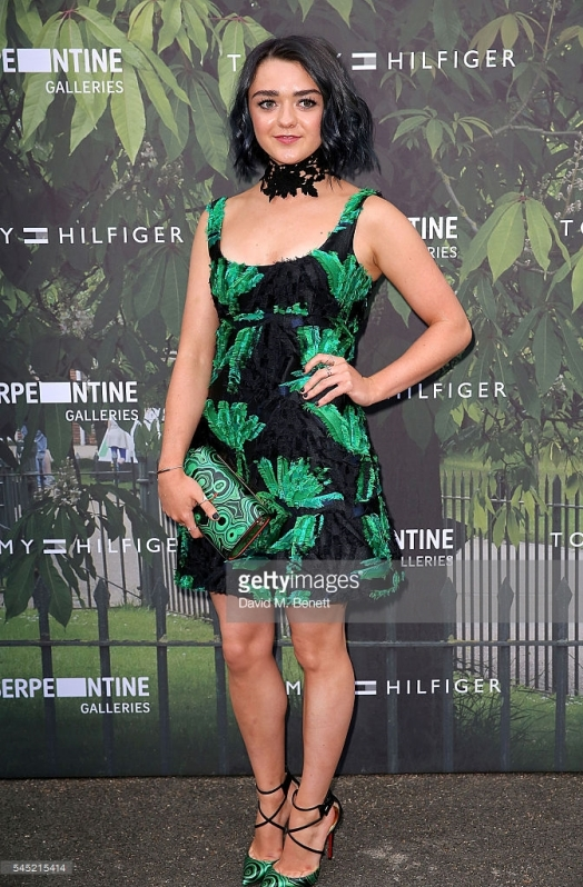 attends The Serpentine Summer Party Co-Hosted By Tommy Hilfiger at The Serpentine Gallery on July 6, 2016 in London, England.