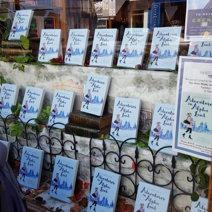 NottinghillBookshopwindow